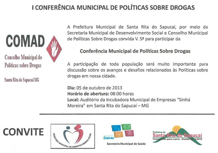 1ª Conferência Política sobre Drogas