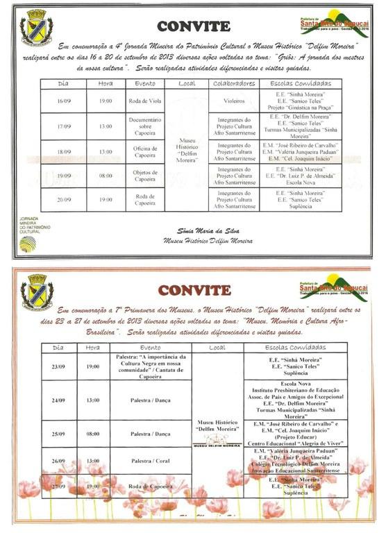 convite jornada mineira museu