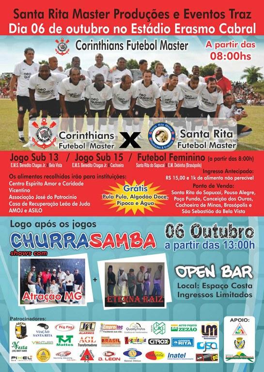 Jogo beneficente: Corinthians x Santa Rita (Master)
