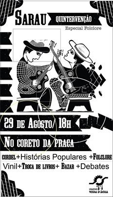 Sarau Quintervenção - 29/08