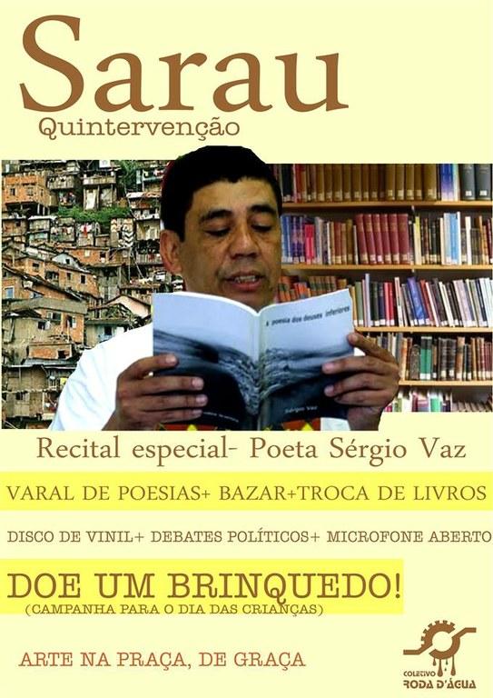 Sarau Quintervenção - 05/09