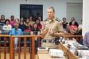 Comandante da 17ª Região participa de reunião na Câmara Municipal