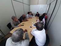 Prefeito e vereadores discutem a dívida com a empresa BPS Terraplanagem