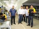 Vereadores visitam empresas que receberão terrenos do Município
